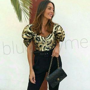 💌BUY 1, GET 1 50% OFF Zara WOMANS Puff Sleeve Top